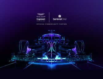 SentinelOne joins Aston Martin as an official cyber security partner