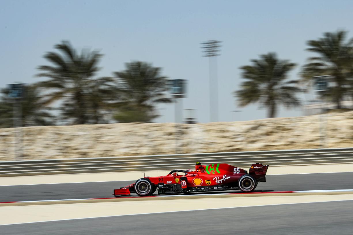 FERRARI F1 TEST BAHRAIN - SABATO 13/03/2021