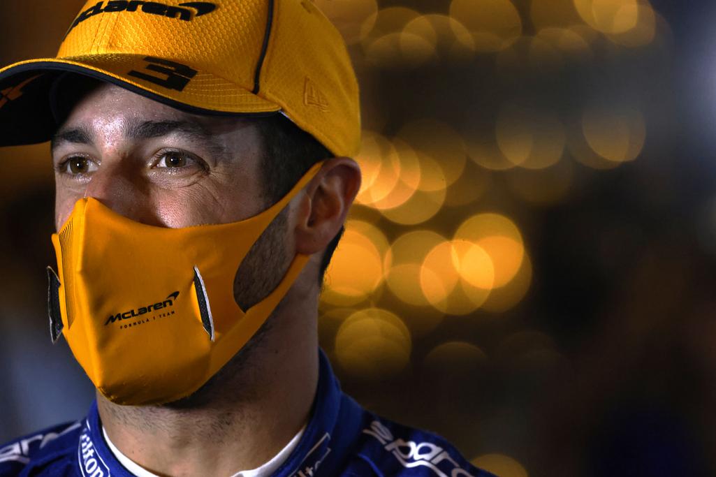2021 Bahrain Grand Prix Daniel Ricciardo, McLaren