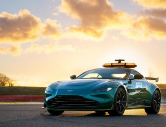 Aston Martin – official safety and medical cars of Formula 1