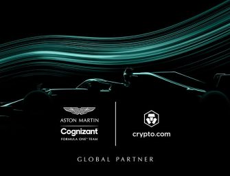 Crypto.com partners with Aston Martin Cognizant F1 Team