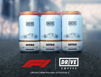 Drive Coffee becomes an official coffee supplier to Formula 1