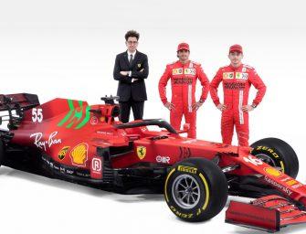 Scuderia Ferrari SF21 is here!