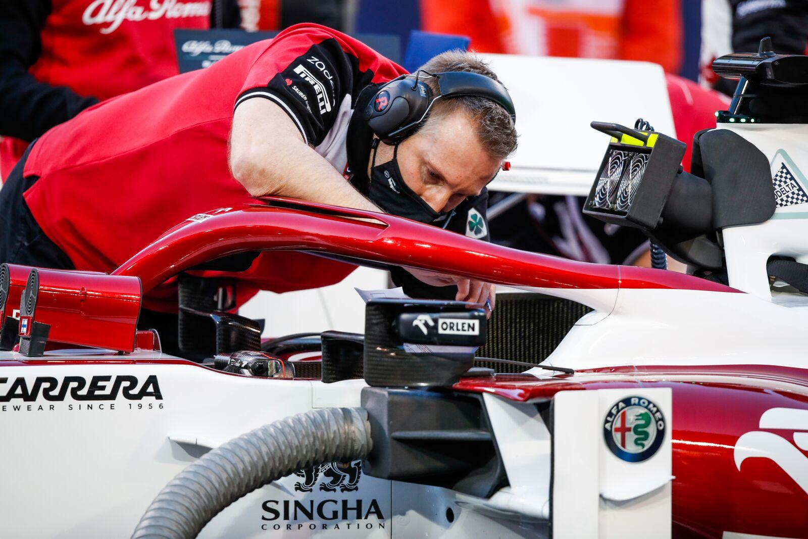 2021 Bahrain Grand Prix - Sunday - Alfa Romeo ORLEN