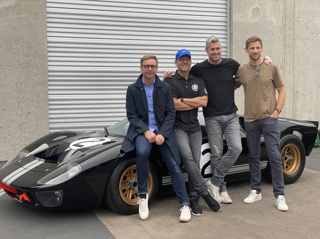 Mark Stubbs Roger Behle Ant Anstead and Jenson Button - Radford Returns