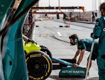 Pelmark renews clothing partnership with Aston Martin F1 Team