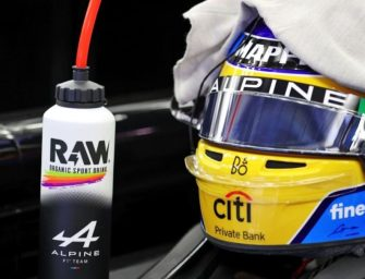 RAW organic sports drink partners with Alpine F1 Team