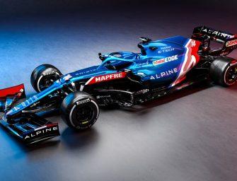 A521 shakedown with Esteban Ocon at Silverstone