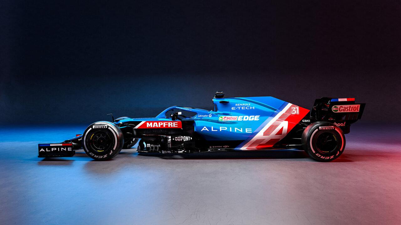 Alpine F1 Team Launch