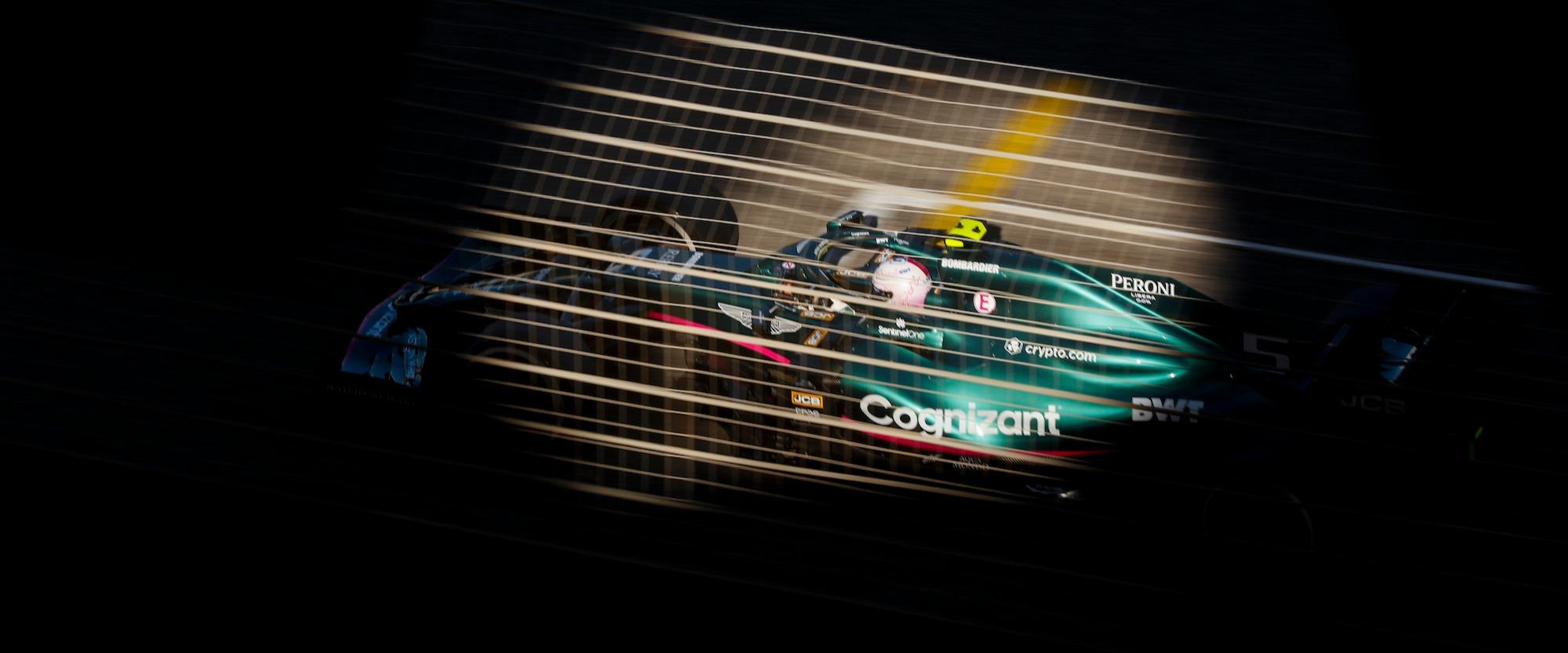 Under the spotlight: Sebastian Vettel and the AMR21