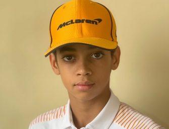 Ugo Ugochukwu is signed by McLaren Racing
