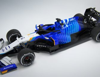 Williams Mercedes FW43B is launched today