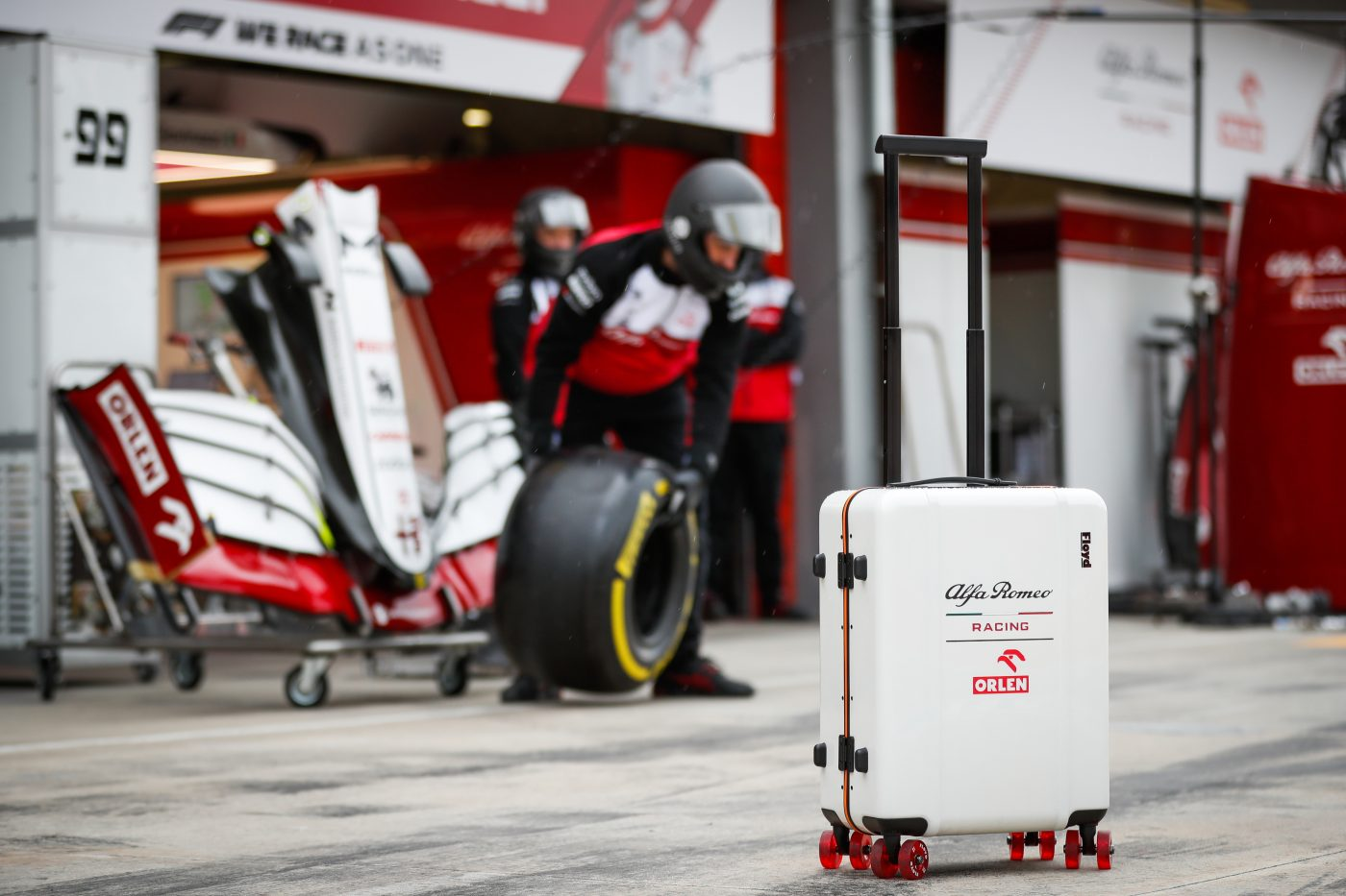 Floyd Luggage and Alfa Romeo Racing