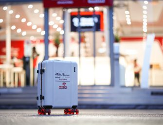 Floyd Luggage partner with Alfa Romeo Racing