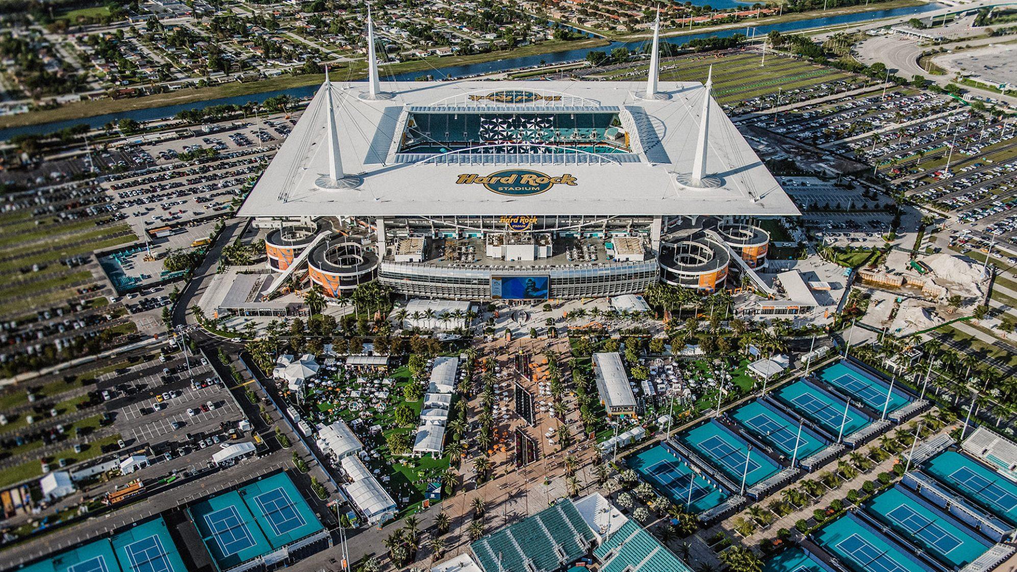 Miami Grand Prix - Dolphins stadium