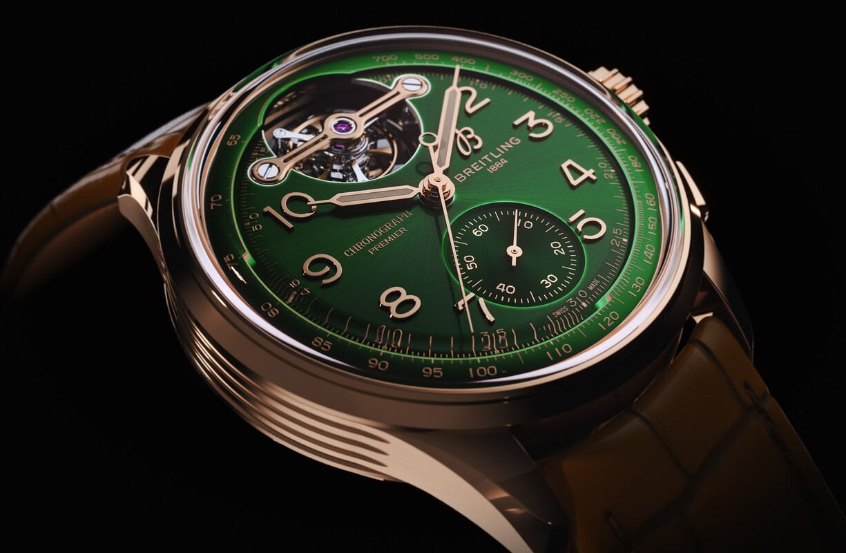 Premier B21 Chronograph Tourbillon 42 Bentley Limited Edition - 5