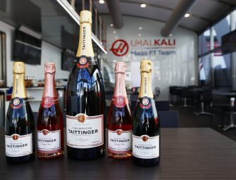 Taittinger Champagne House partners with Haas F1 Team