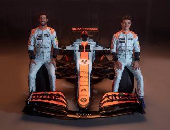 McLaren Racing Gulf Oil livery