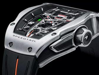 RM 40-01 Speedtail watch – an exclusive McLaren and Richard Mille collaboration