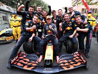 Verstappen and Red Bull relishing life at the top