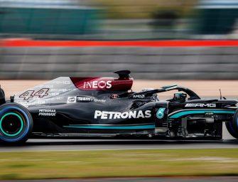 TeamViewer debuts on Mercedes W12