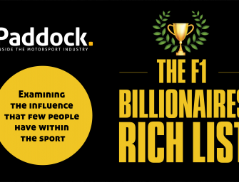 The Formula 1 Billionaires Rich List