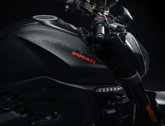 The new Monster motorbike by DUCATI