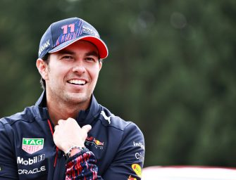 Sergio Perez re-signed with Red Bull for the 2022 F1 season