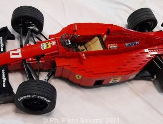 Designing and building F1 models with… special bricks