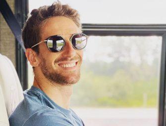 Romain Grosjean and his new life in America