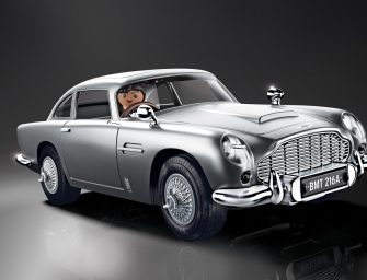 The James Bond Aston Martin DB5 – Goldfinger Edition