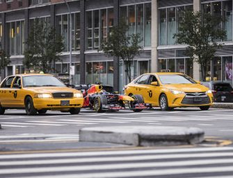 New York City is a new stop for Red Bull Racing